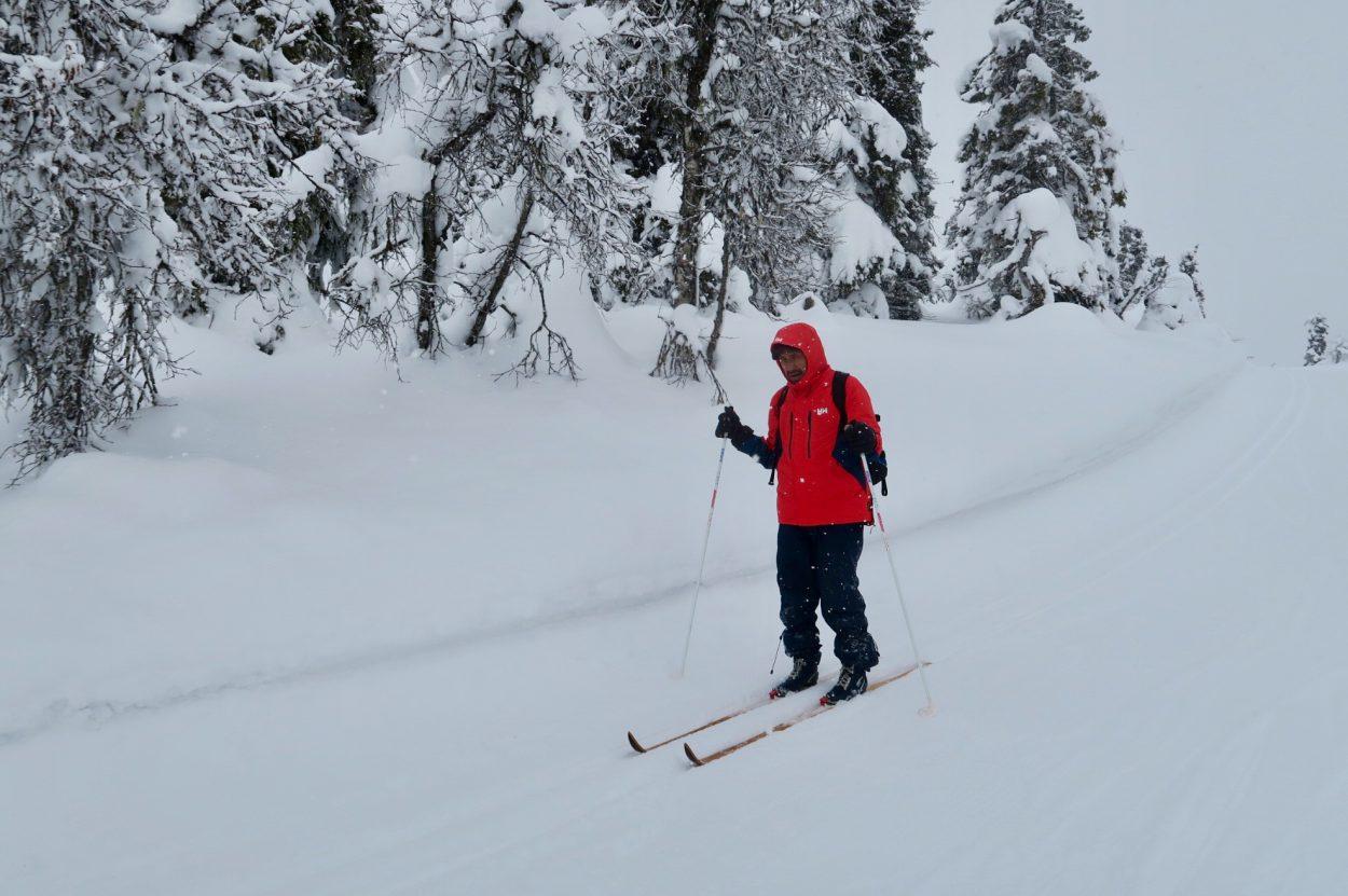 Apollo på skitur